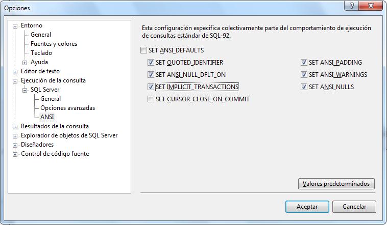 SQL Server Autocommit